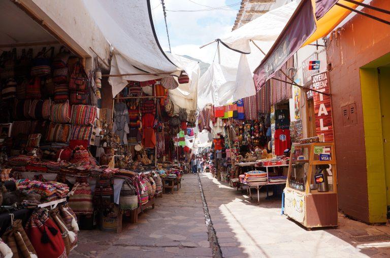 我去度個假不小心去了馬丘比丘13「Pisac Market」假日市集