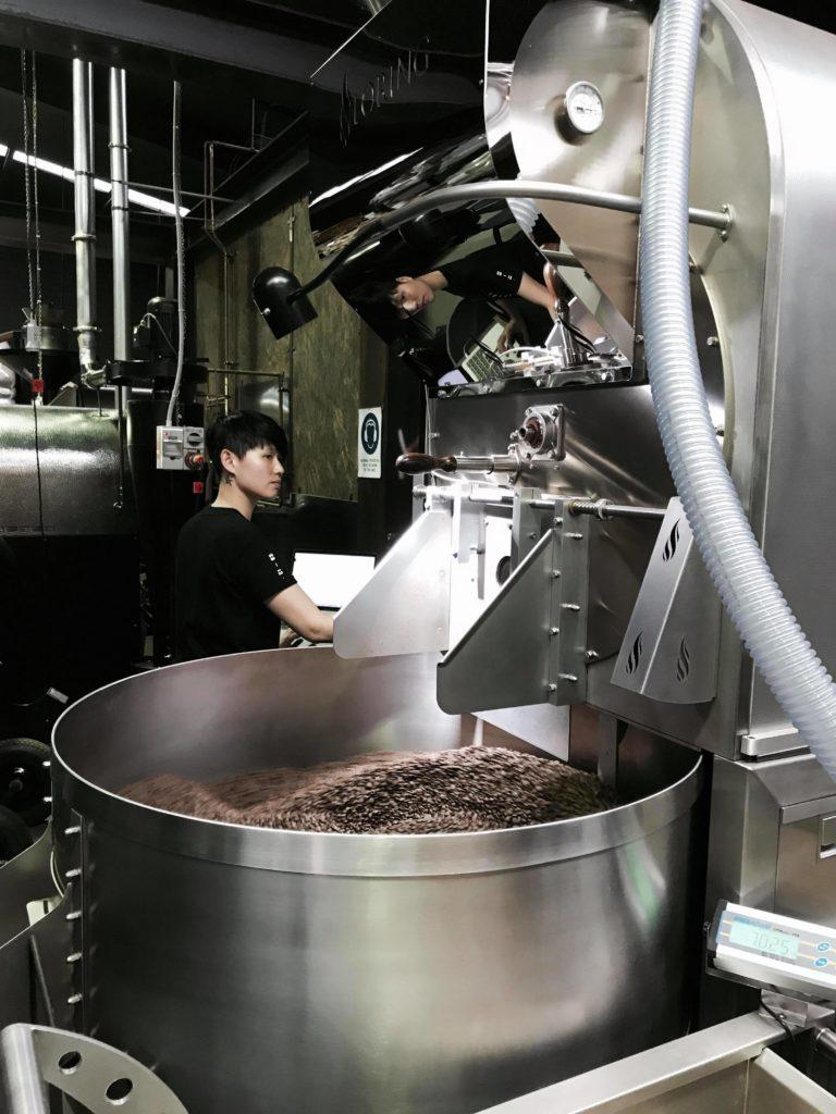墨爾本的咖啡師故事2-唯一的台灣女性烘豆師